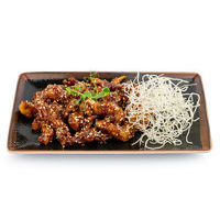 11.00Crispy beef with black bean and honey sauce