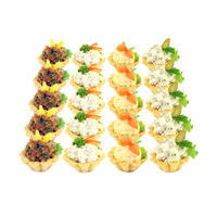 1780. Assorted of cheese tartlets