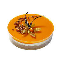 25. MINI Mango with almond praline