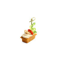 2754. Tuna mousse in cheese tartlet
