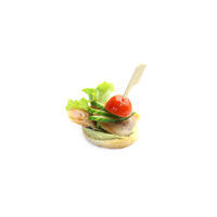 2782. Canape with smoked mackerel and avocado mousse