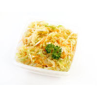 421. Fresh cabbage salad with carrots