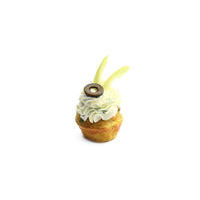 3375. Salted mini cupcake with Dor Blue cheese cream