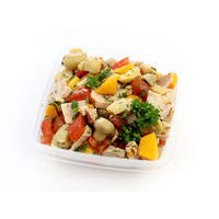 439. Chicken salad with peaches (0.5 kg)