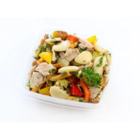441. Bean salad with smoked chicken (0.5 kg)