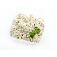 453. Tongue salad with champignons (0.5 kg)