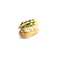 4716. Mini eclair with ham cream