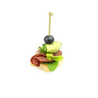 4781. Smoked duck breast canape