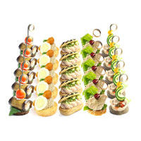 1410. Assortment of meat vegetable starters