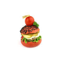 4904. Red mini chicken burger