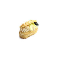 4976. Mini eclair with smoked chicken fillet cream