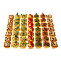 1750. Assorted of mini cheese tartlets