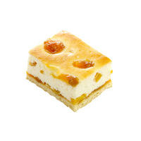 170. Curd cake with apricot and peach