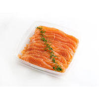 528. Smoked salmon (sliced)