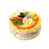 6012. Layered tuna cake