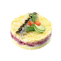 6060. Layered herring cake