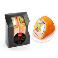 Gan bei Wrap with roasted salmon