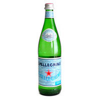 Sparkling mineral water S.Pellegrino (0,75l)