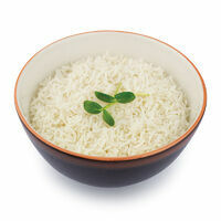 Steamed rice Basmati