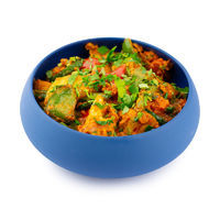 Stewed mixed vegetables with Indian spices