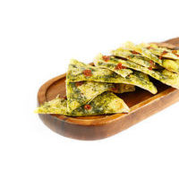 Thin Focaccia with Pesto,