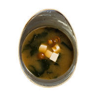 Traditional Japanese Miso soup